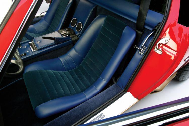 1971 Lamborghini Miura P400 S-V US-spec supercar classic wallpaper