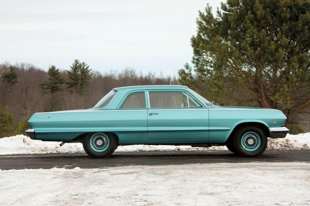 1963 Chevrolet Biscayne 2-door Sedan muscle classic wallpaper