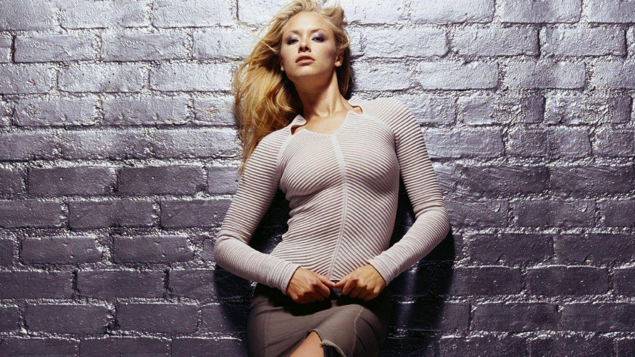 SENSUALITY - kristanna loken celebrity girl blonde wall terminatrix wallpaper