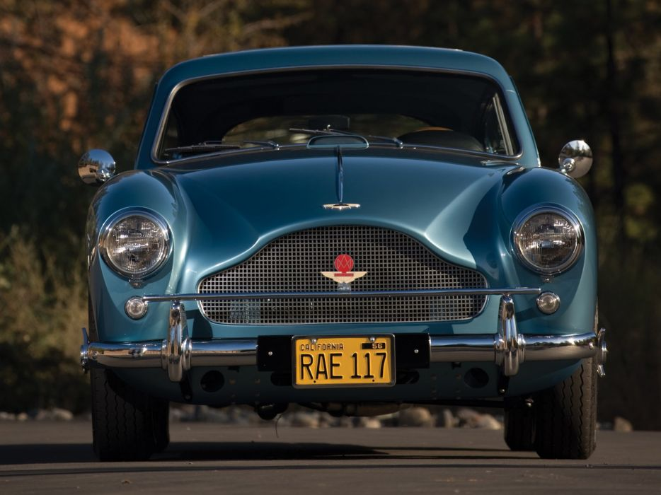 1959 Aston Martin DB24 Saloon Tickford US-spec MkIII luxury retro supercar wallpaper