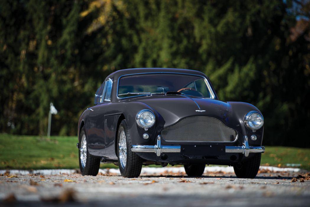 1958 Aston Martin DB24 Saloon Tickford US-spec MkIII luxury retro supercar wallpaper