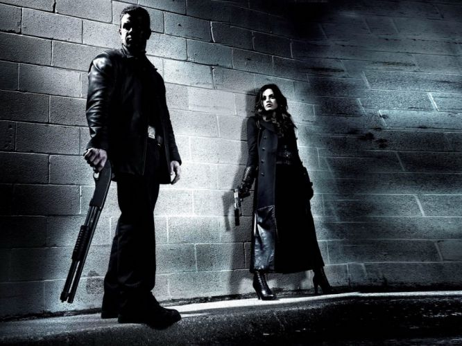 WOMEN AND GUNS - mila kunis girl movies Max Payne wallpaper