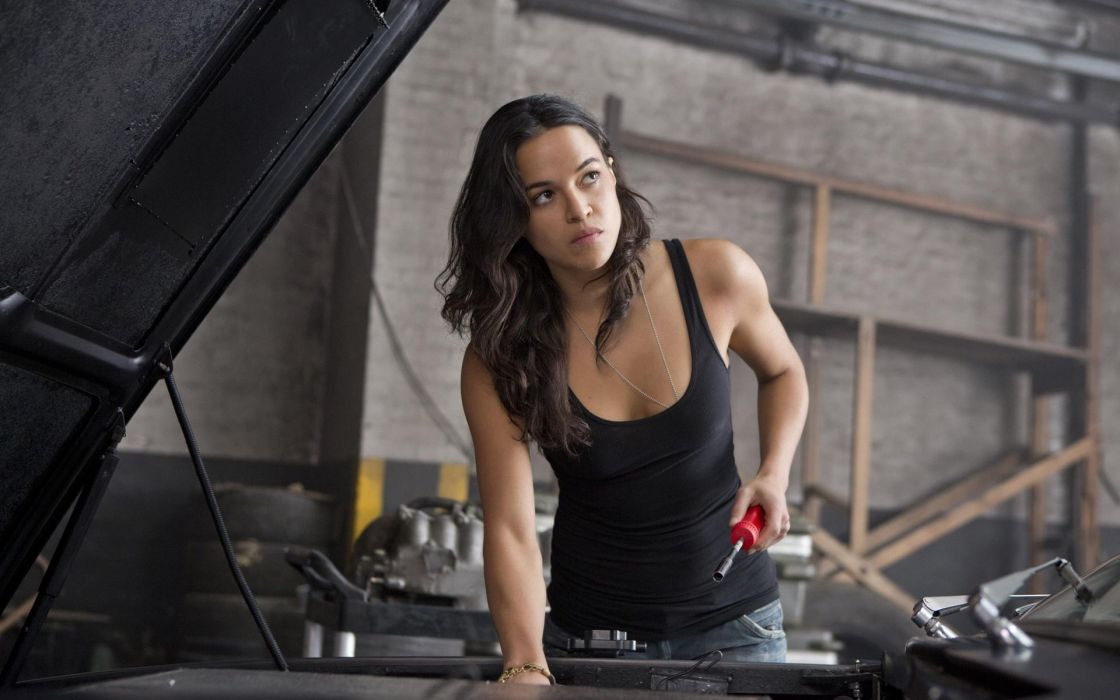 WOMEN AT WORK - michelle rodriguez movie fast and furious 6 sensuality wallpaper