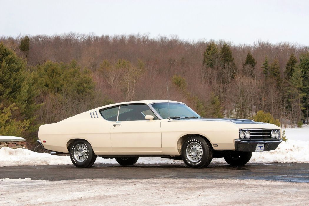 1969 Ford Torino Talladega muscle classic nascar race racing wallpaper