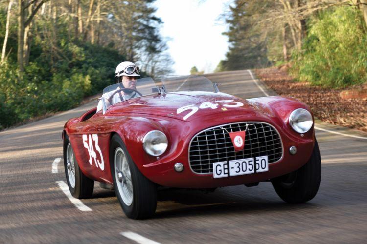 1951 Ferrari 212 Export Barchetta supercar touring race racing retro wallpaper