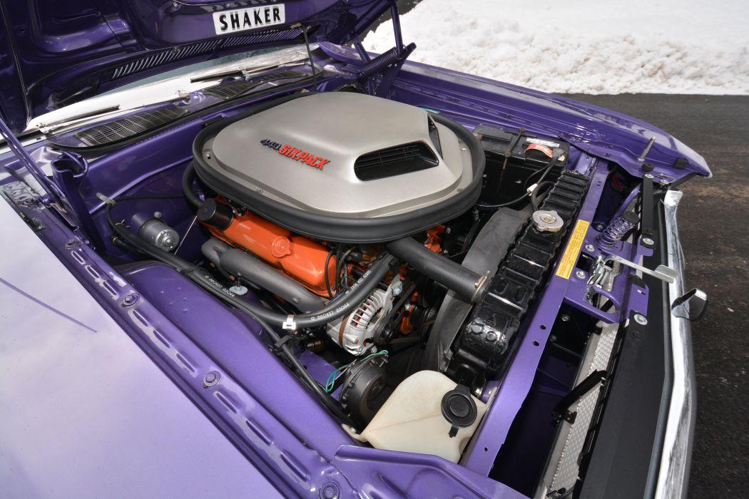 1970 Dodge Challenger R-T 440 Six Pack Convertible JS27 muscle classic wallpaper
