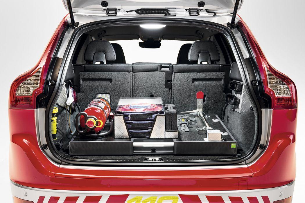 2015 Volvo XC60 Feuerwehr stationwagon fire firetruck emergency wallpaper