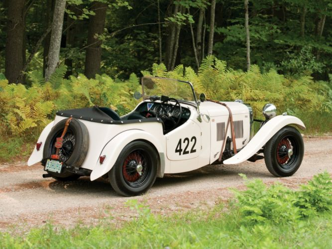1953 HRG 1500 W-S Roadster race racing retro wallpaper
