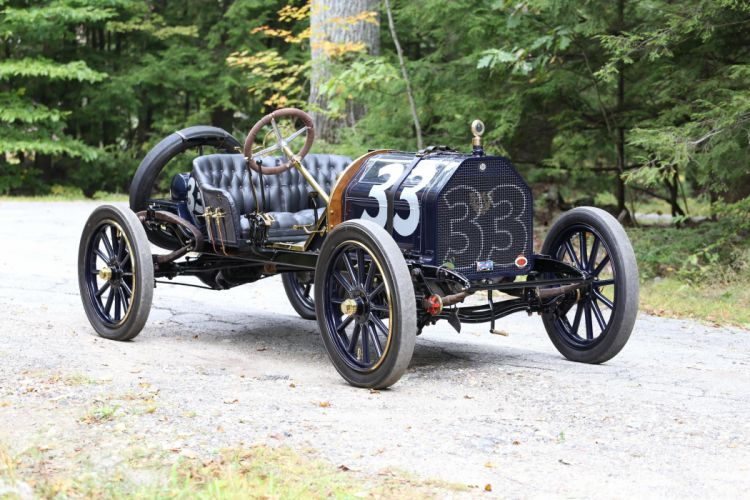 1911 EMF Model-30 Race racing retro vintage wallpaper