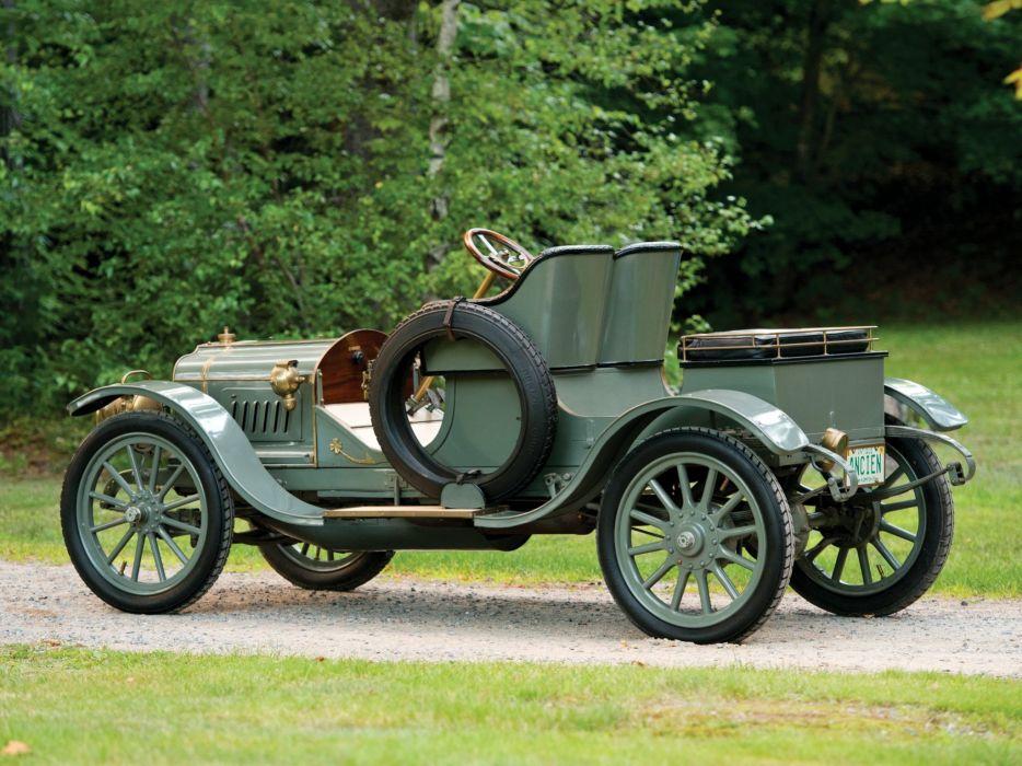 1911 Brasier Model-11 15HP Runabout retro vintage luxury wallpaper