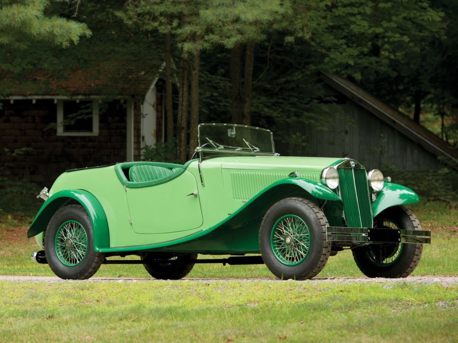 1934 Lancia Augusta Special Tourer March luxury retro vintage wallpaper