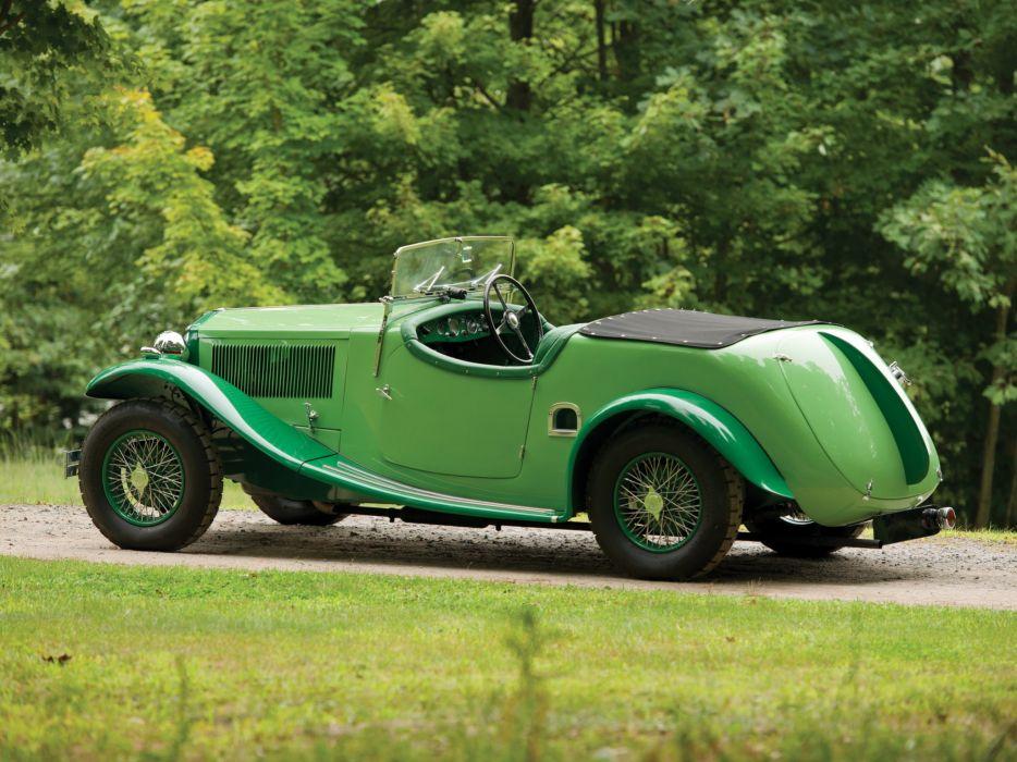 1934 Lancia Augusta Special Tourer March luxury retro vintage wallpaper