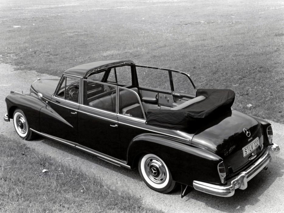 1960 Mercedes Benz 300d Pullman Landaulet W189 luxury classic limosuine wallpaper