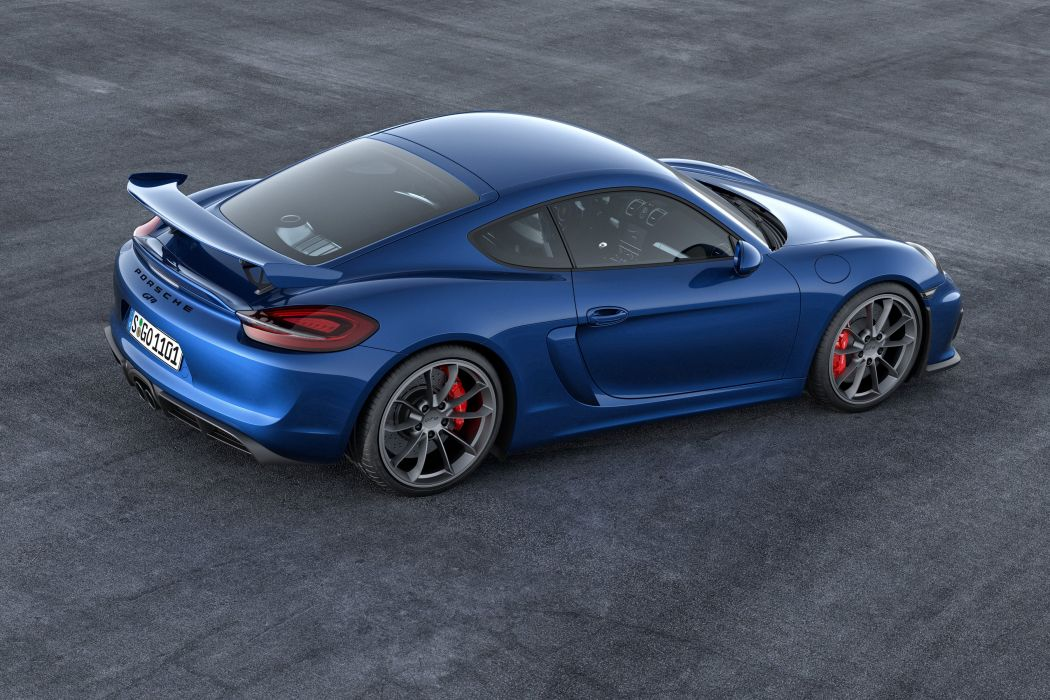 2015 Porsche Cayman GT4 981C supercar wallpaper