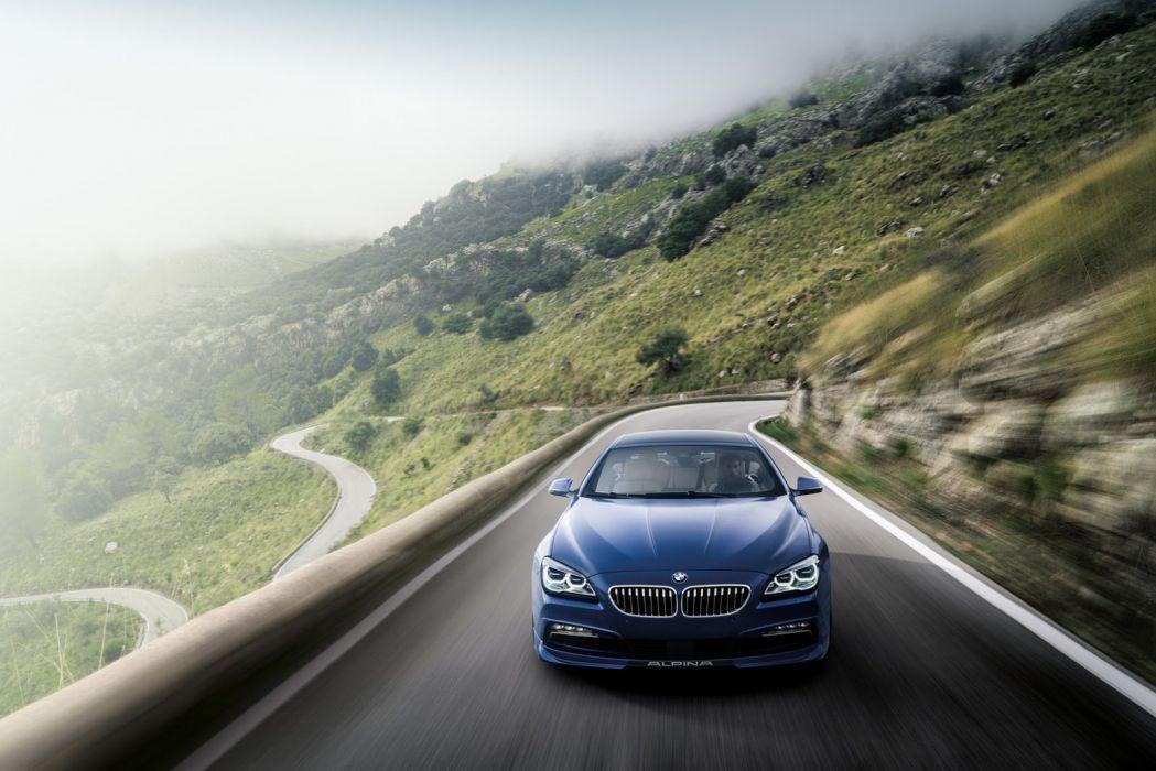 2015 cars Alpina B6 xDrive Gran CoupA wallpaper