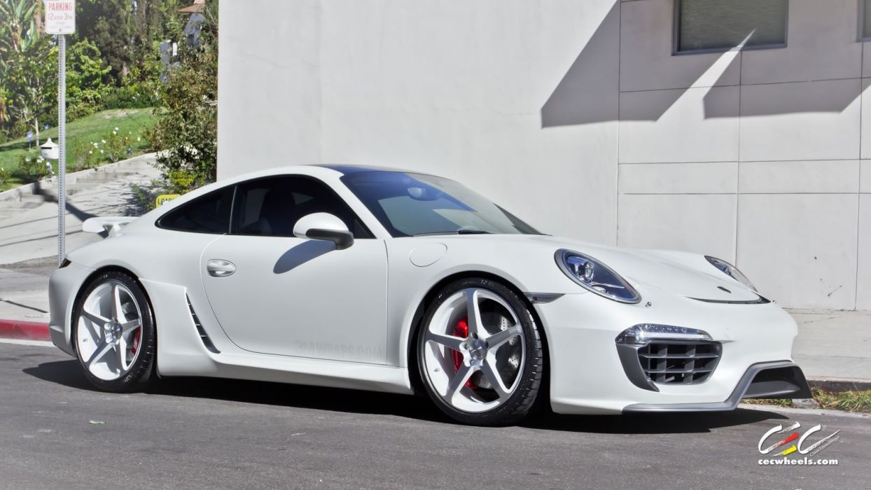 2015 cars CEC Tuning wheels porsche 911 Carrera S wallpaper