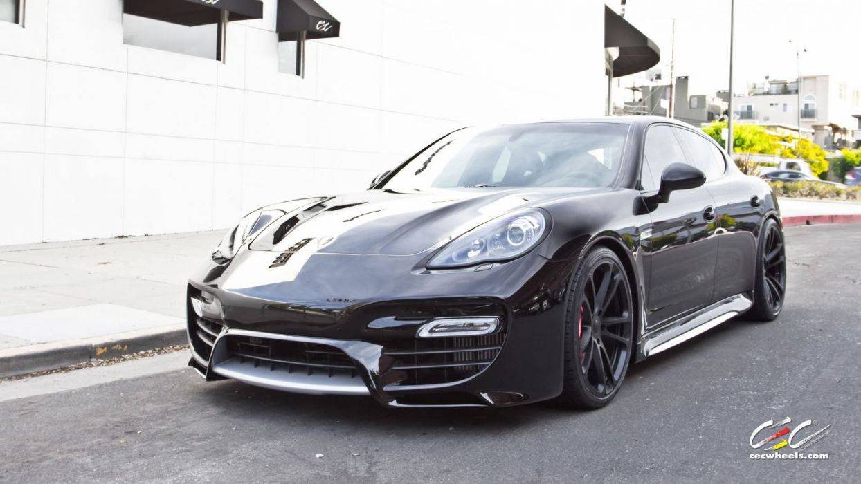 2015 cars CEC Tuning wheels porsche Panamera Turbo S wallpaper