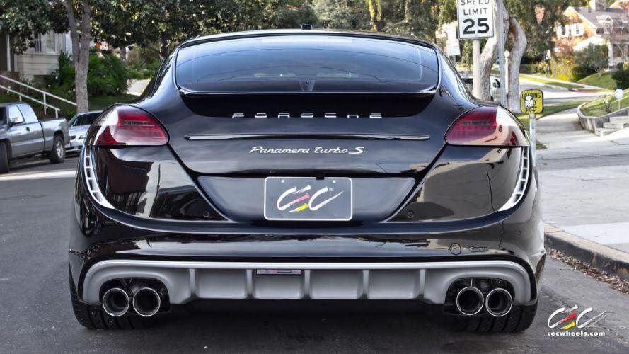 2015 cars CEC Tuning wheels porsche Panamera Turbo S wallpaper