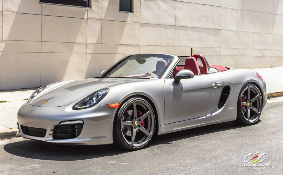 2015 cars CEC Tuning wheels porsche Boxster S convertible wallpaper