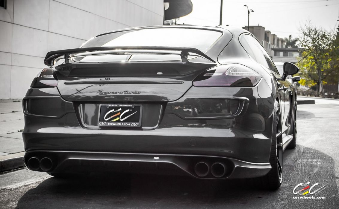 2015 cars CEC Tuning wheels porsche speedART Panamera Turbo wallpaper