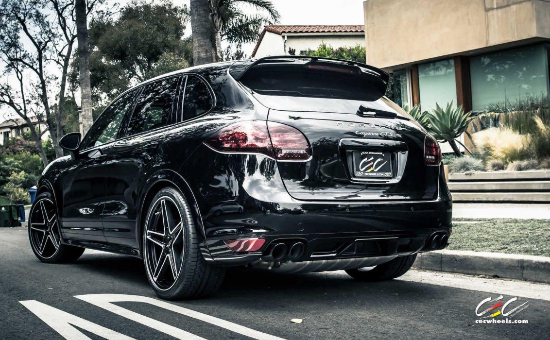 2015 cars CEC Tuning wheels porsche Cayenne GTS suv wallpaper