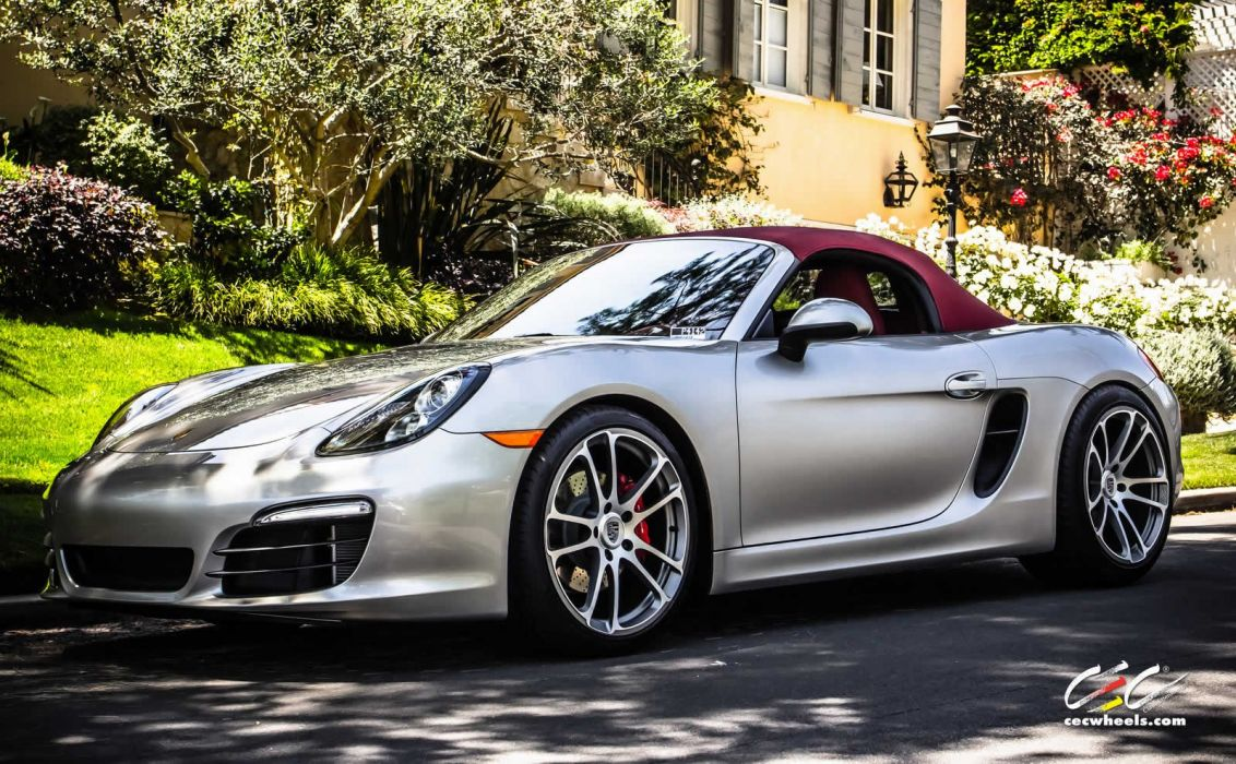 2015 cars CEC Tuning wheels porsche Boxster S wallpaper