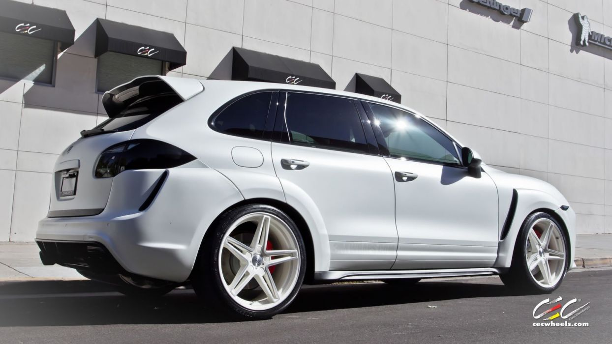 2015 cars CEC Tuning wheels porsche Cayenne Turbo wallpaper