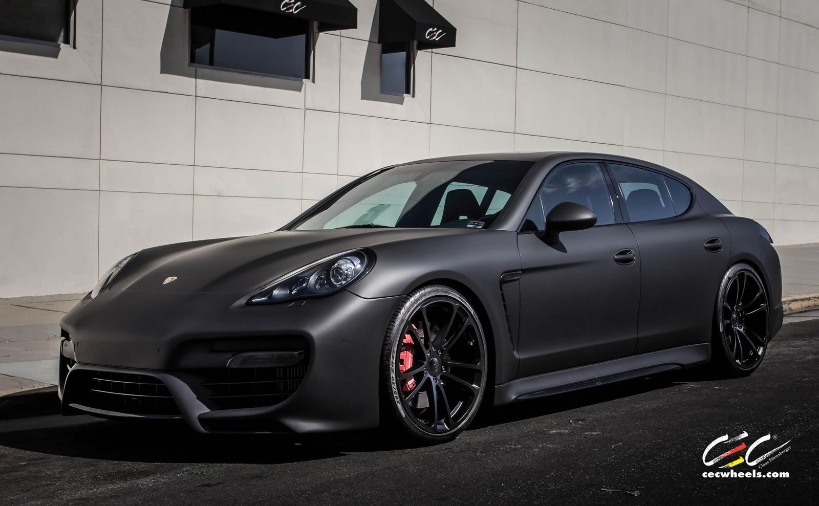 2015 cars cec tuning wheels porsche panamera turbo wallpaper 1600x989 620110 wallpaperup - 2015 Porsche Panamera Black