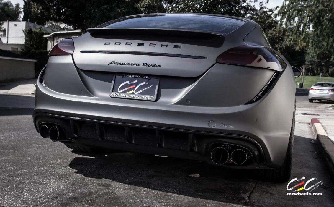 2015 cars CEC Tuning wheels porsche Panamera Turbo wallpaper