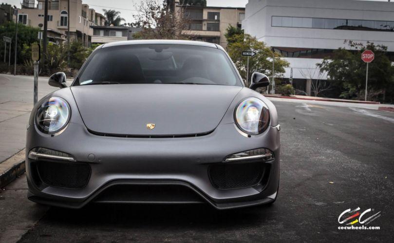 2015 cars CEC Tuning wheels porsche 911 Carrera 4S wallpaper