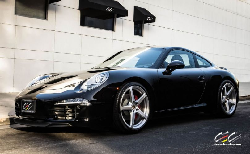 2015 cars CEC Tuning wheels porsche 911 Carrera s wallpaper