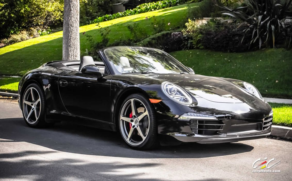 2015 cars CEC Tuning wheels porsche 911 Carrera s convertible cabriolet wallpaper