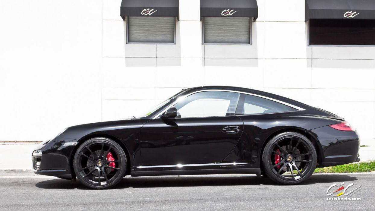 2015 cars CEC Tuning wheels porsche 911 Targa 4S wallpaper