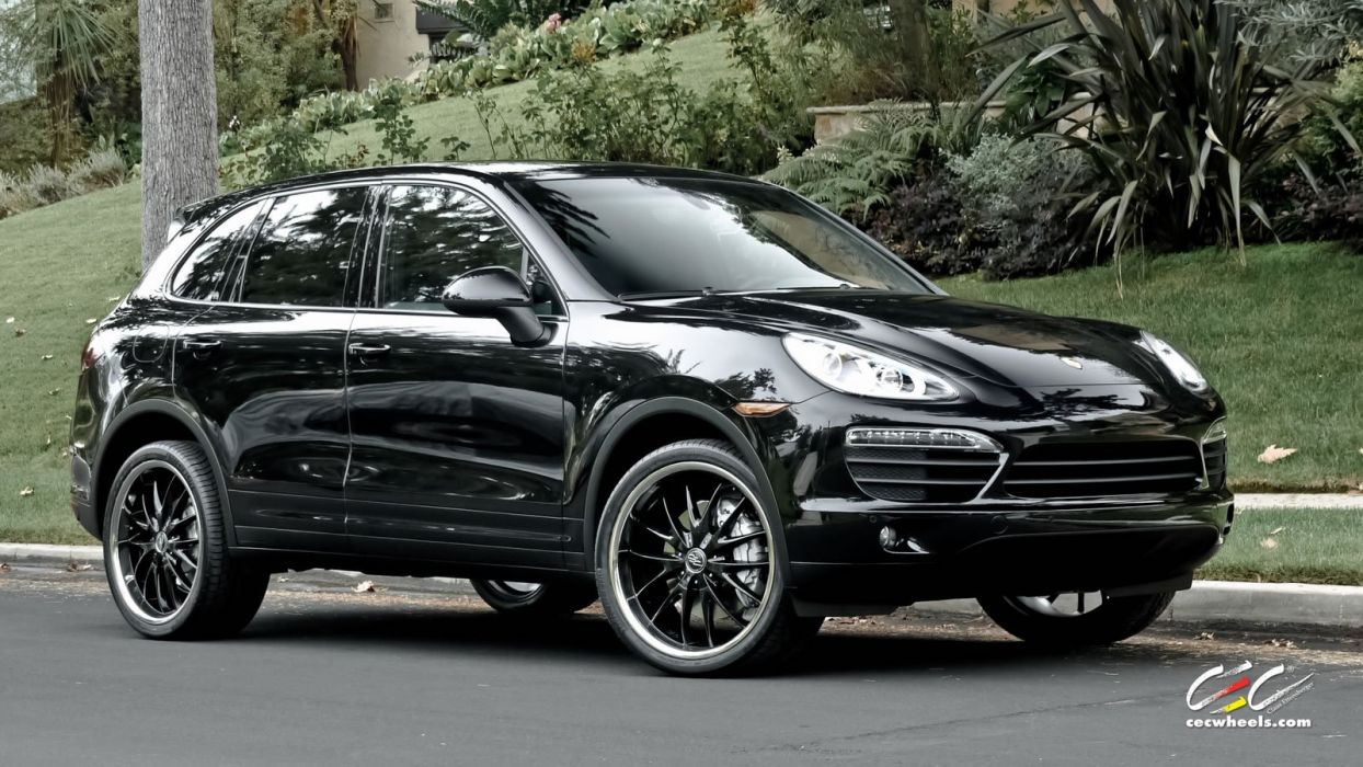 2015 cars CEC Tuning wheels porsche Cayenne S suv wallpaper