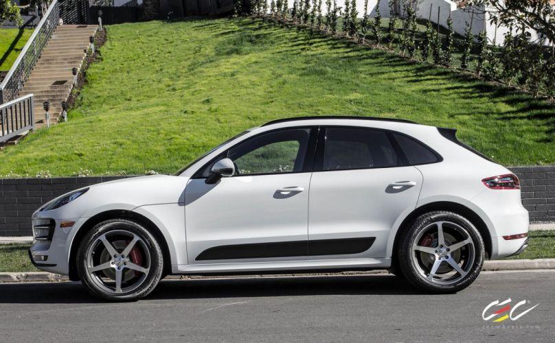 2015 cars CEC Tuning wheels porsche Mecan Turbo suv wallpaper