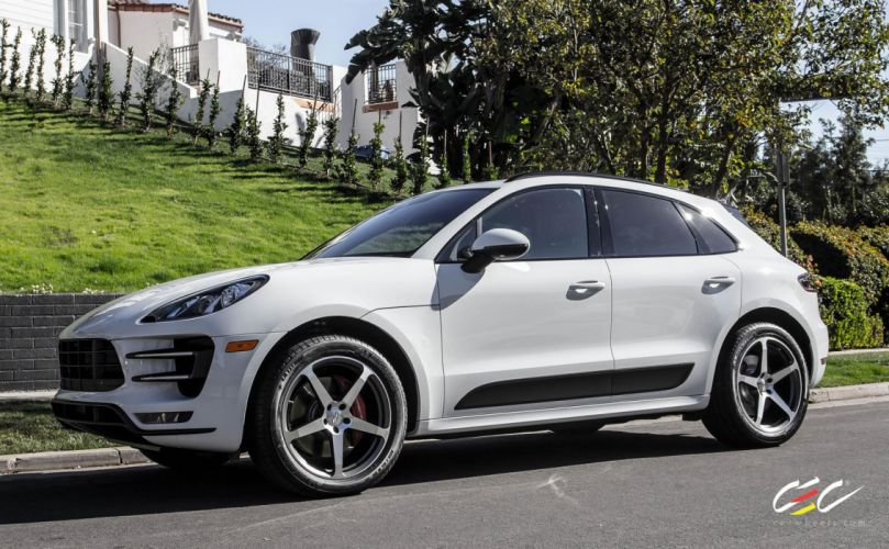 2015 cars CEC Tuning wheels porsche Mecan Turbo suv wallpaper