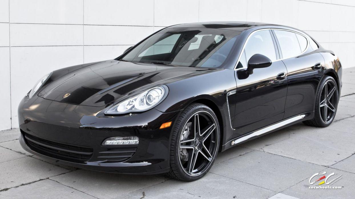 2015 cars CEC Tuning wheels porsche Porsche Panamera wallpaper
