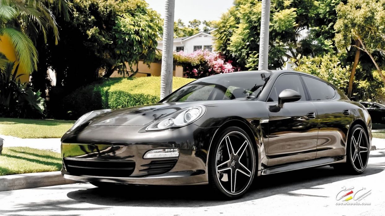 2015 cars CEC Tuning wheels porsche Porsche Panamera wallpaper