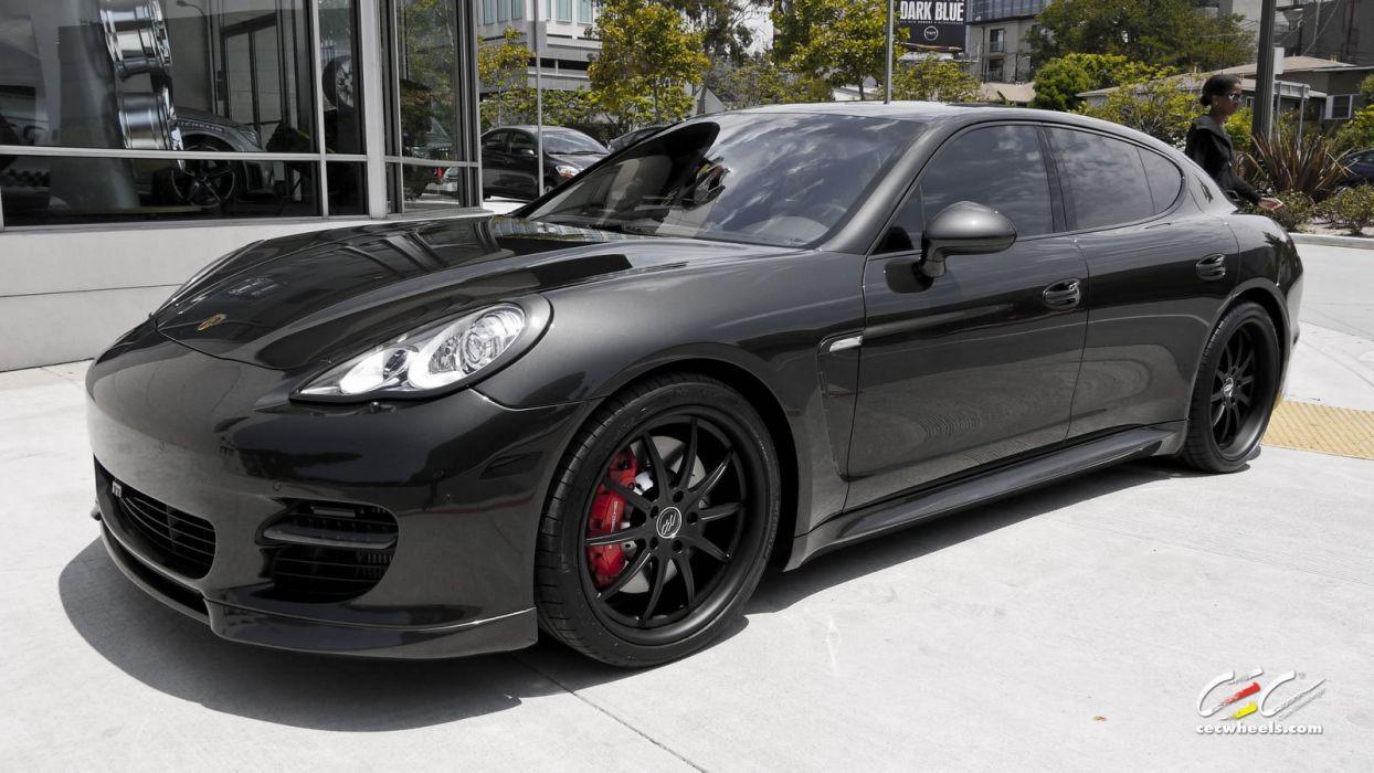 2015 cars CEC Tuning wheels porsche Porsche Panamera turbo wallpaper