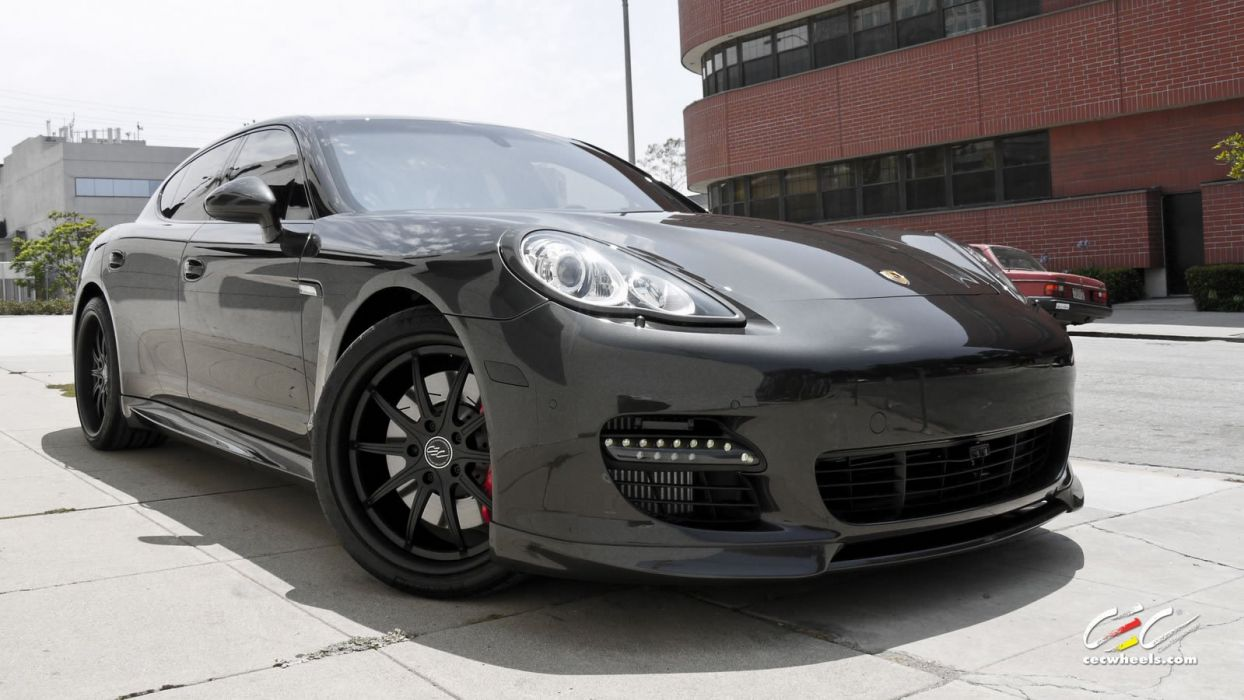 2015 cars CEC Tuning wheels porsche Porsche Panamera turbo wallpaper