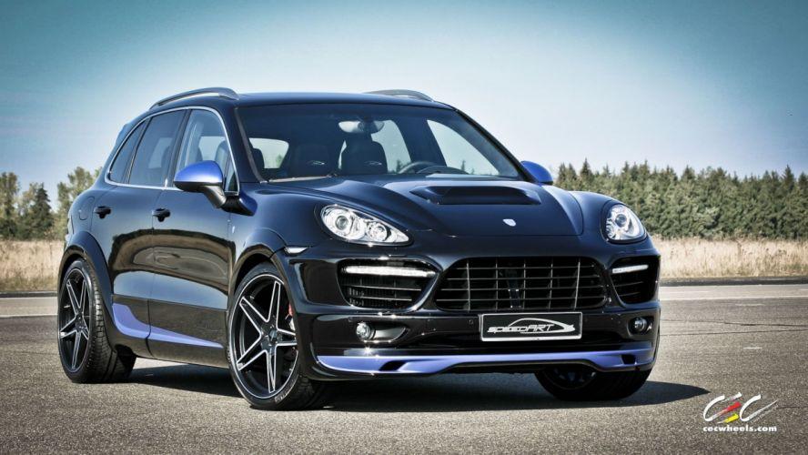 2015 cars CEC Tuning wheels porsche Porsche speedART Cayenne Turbo wallpaper