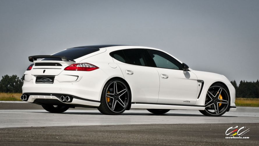 2015 cars CEC Tuning wheels porsche Porsche speedART Panamera Turbo wallpaper