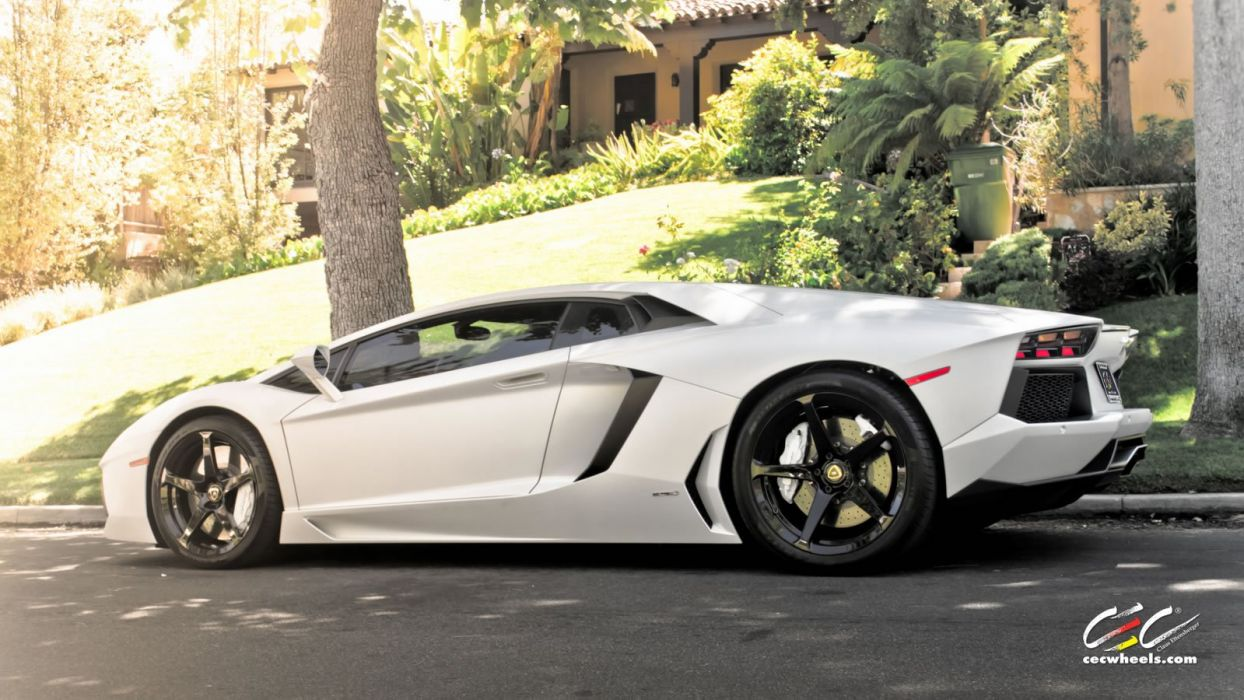 2015 cars CEC Tuning wheels supercars Lamborghini Aventador wallpaper