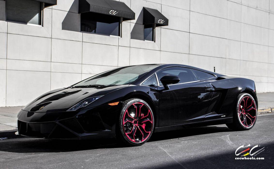 2015 cars CEC Tuning wheels supercars Lamborghini Gallardo LP560-4 wallpaper