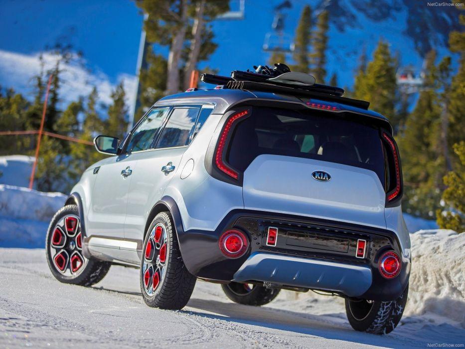 2015 Kia Trailster Concept cars suv wallpaper