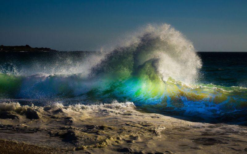 sea ocean waves wave wallpaper