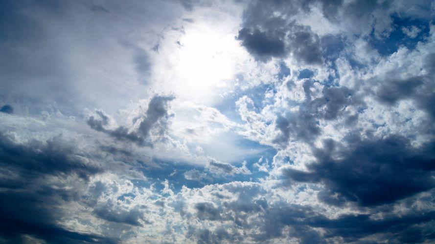 sky clouds wallpaper