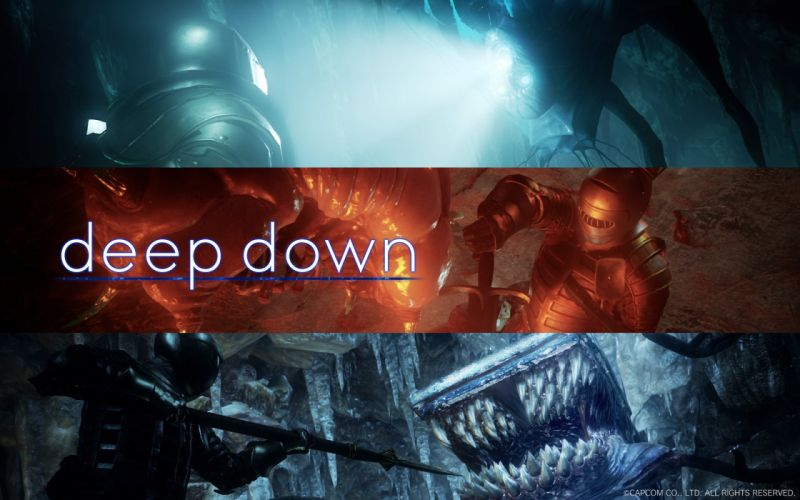 DEEP DOWN fantasy rpg dungeon crawler medieval fighting sci-fi 1ddown futuristic warrior poster wallpaper