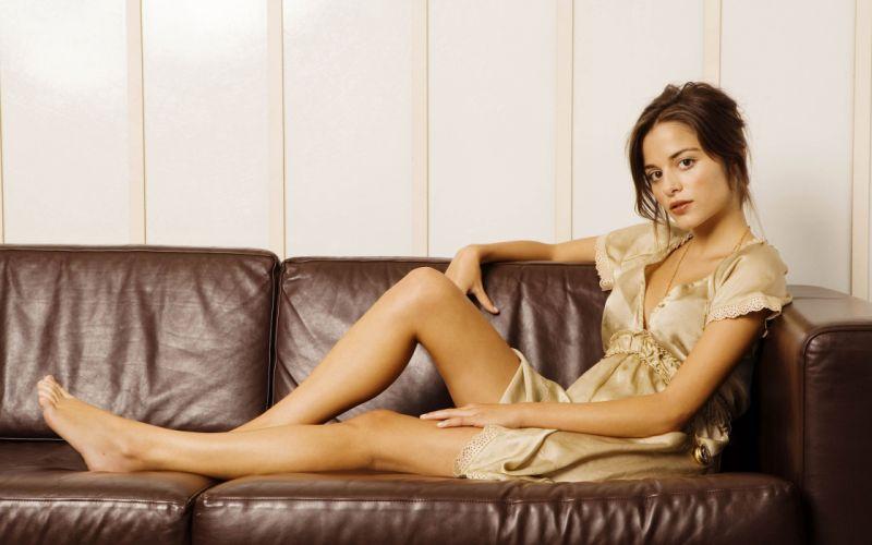 SENSUALITY - stephanie leonidas celebrity girl brunette legs wallpaper