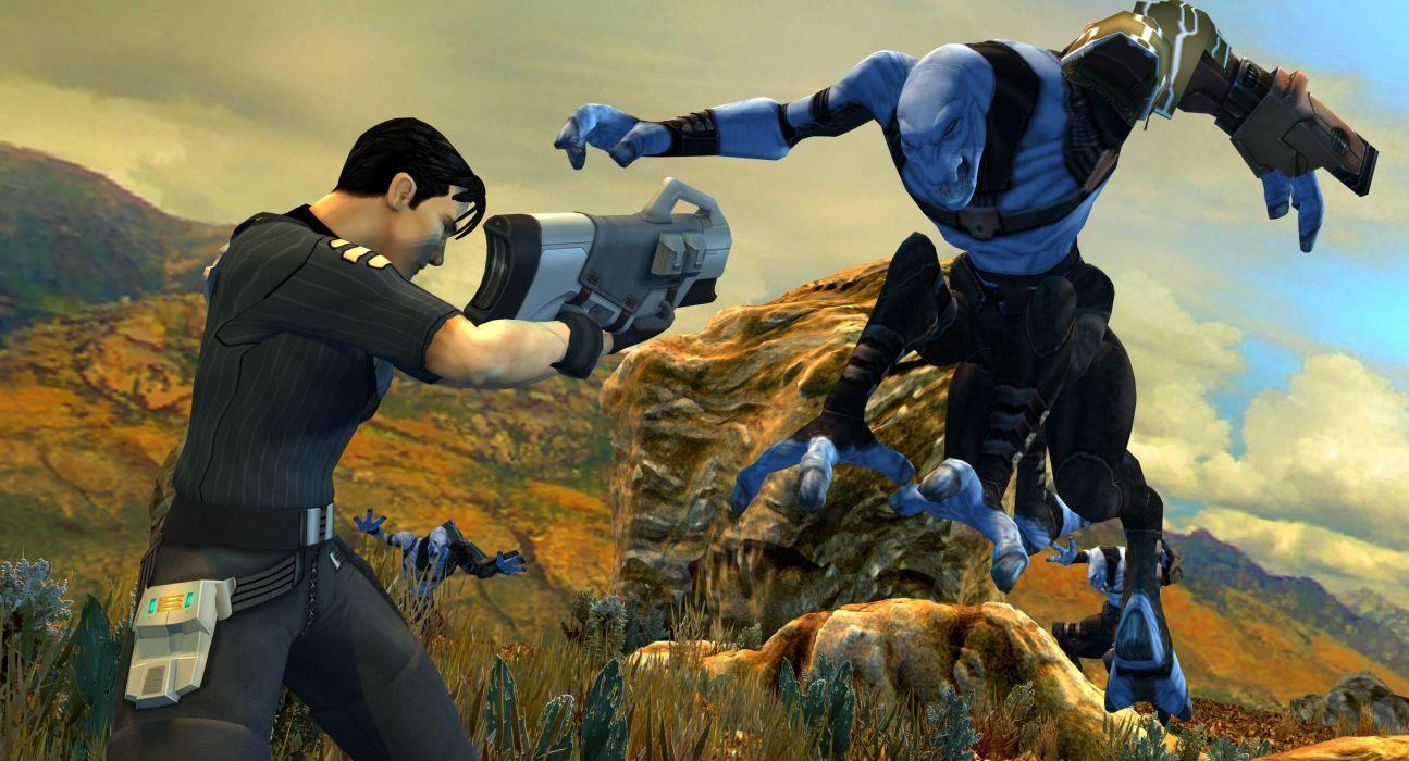 ADVENT RISING action adventure shooter sci-fi fighting futuristic 1arising warrior wallpaper